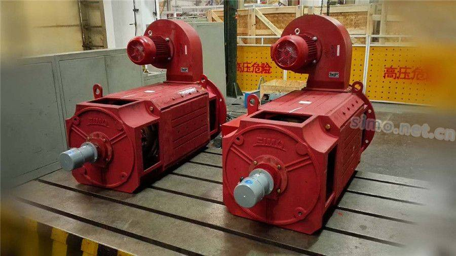 Z4直流电机生产线展示
