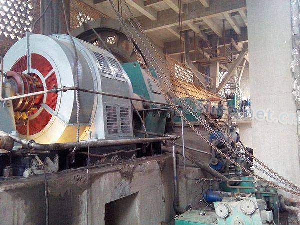 铜川骊山建材用我厂YR1600-8高压电机