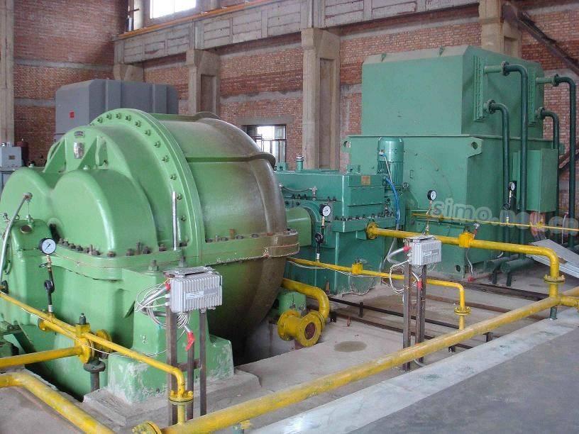 水电站用我厂高压电机作为动力