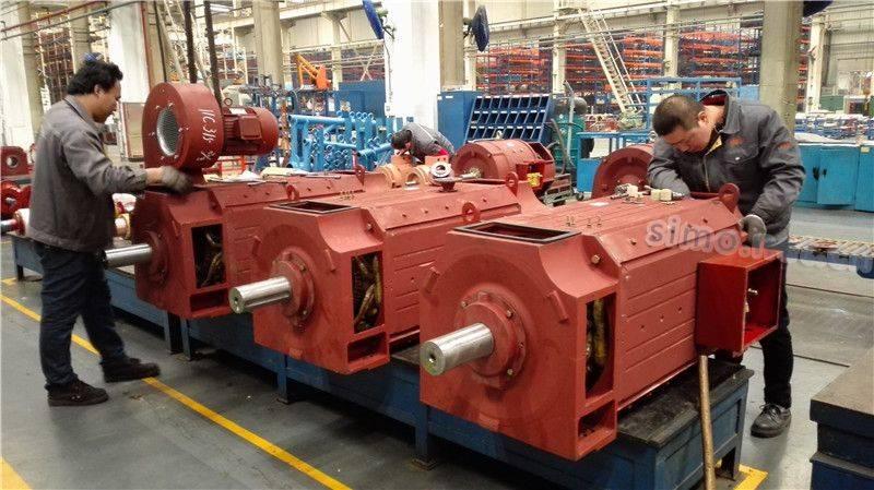 Z4系列直流电机生产线